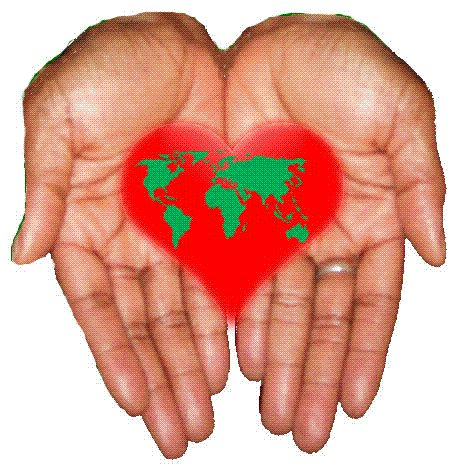 My heart is in my hand
